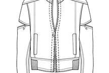 Vectorial fashion ilustration
