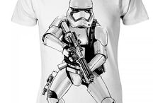 Star Wars Episode VII Clothing / A sampling of the range of Star Wars clothing that we offer in our online store.