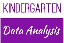 Kindergarten: Data Analysis / This board contains resources for Texas TEKS K.8A, K.8B, K.8C
