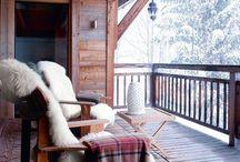 Suggestioni di montagna! / Tranquillità, freddo fuori caldo dentro per il massimo del relax! La suggestione di vivere in una baita di montagna.