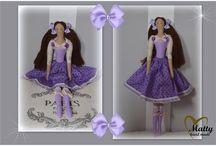 Matty - Decorative Dolls / Hand made moje tvořeníčko