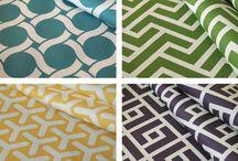 Geometric Fabric Prints