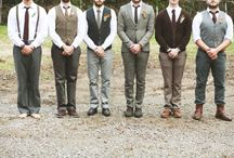 Let's Hear It For The Boy(s)  / Styles for the groom and his men / by Your Wedding Muse