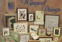 the omnibook of winged thing / point de croix