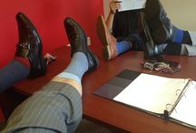Sock Day! / The men of Apex Consulting Solutions love their socks!