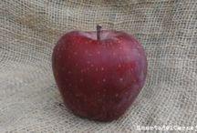 Manzana roja. Red delicious