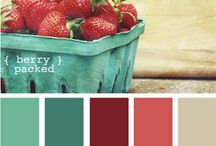 Cool Color Combos / by Chiquistina