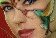 maquillaje facial fabuloso