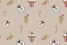 Wall paper christmas