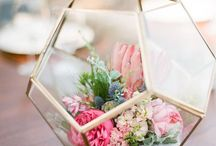 geometric centerpieces