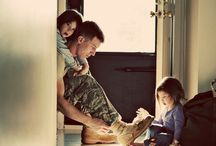 My hubby and our growing family! / by Courtney Bayles