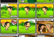 Mayan Adventure ComicStrip