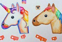 jednorožce instagram