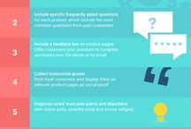 Ecommerce Optimization / Pins related to eCommerce personalization and online retail optimization.