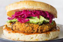Vegan Burgers, meatballs, meatloafs
