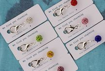 Equestrian bridle charms /  Bridle charms for horses, riders and ponies