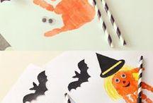 Activites manuelles enfant pour halloween