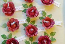Stampin Up Spiral Flower Die Ideas