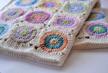 Knit and crochet blankets and throws