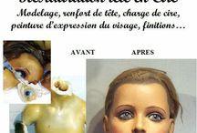 La clinique des poupées Bordeaux, en déplacement du Limousin à la Gironde pour mieux vous satisfaire...