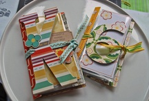 Crafty Night Mini Album Ideas / Looking for picture tutorials as opposed to video tutorials to make it easier to reference during crafty night. / by Valerie H. Wilson