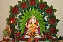 ganpatiji decoration