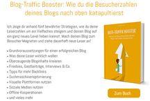 Bücher für BloggerInnen, UnternehmerInnen und Kreative