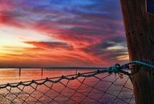 coast sunset / sunrise