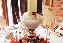 Autumnal weddings