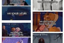 Disney!! / I love Disney films. End of story ;)