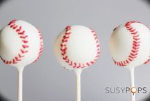 Sports cake pops by SUSYPOPS  / Sports themed cake pops by SUSYPOPS www.facebook.com/SUSYPOPS