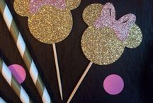 Decoração da Minnie - Festa
