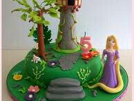Rapunzel torta