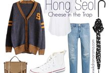 Cheese in the trap hong seol style