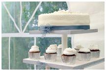 Stand Cupcakes & Tarta de Boda / Stand Cupcakes & Tarta de Boda