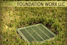 Yard Drainage / by Foundation Worx