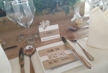 wedding inspiration: St. Donat's wedding showcase November 2016 / Photographs from November 2016 wedding showcase as St. Donat's Arts Centre.  A collection of elegant as rustic styled wedding tables featuring our handmade wedding stationery