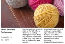 Talbot Stitchers / All about the Talbot Stitchers Crafternoons.