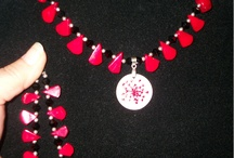 Jewelry that I have made / These are pices of jewelry that I have made. I love using wire and other mediums, beads, pearls, natural stones, crystals...etc. / by Pamela ORourke
