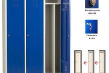 Vestiaire industrie salissante / Découvrez les vestiaires vestimetal spécialement conçus pour l'industrie salissante.