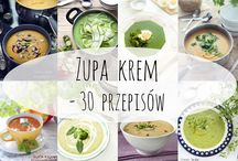 przepisy na kremy zupy