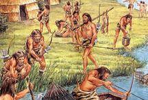Jagers en verzamelaars / de cultuur van de jagers en  verzamelaars