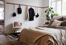 Mid Century / Boho Bedroom