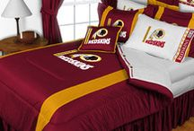 Redskins Rooms / Dedicated to all the Redskins fans that dedicate a room in their house to bleeding burgundy and gold. Get some decorating ideas!! / by TheHogs.net