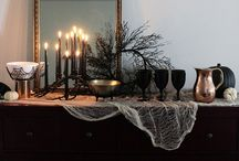 Halloween i kobber og sort / Glamorøs og sofistikert stil til halloweenfesten