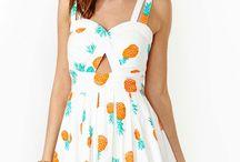 Summer dresses / Sommerkjoler