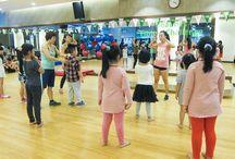 Fitness Plus / Một số hình ảnh sàn tre tại Fitness Plus - VP5 Linh Đàm