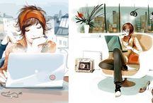 Ilustraciones e ilustradores
