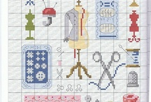 Cross stitching Sewing