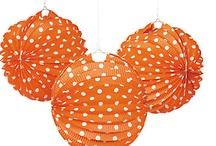 Orange Party / Orange themed products and ideas for your next orange themed event. Jilly Bean Kids